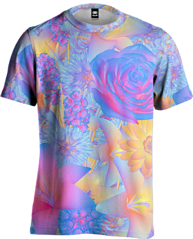 Hyper Blossom Tee All Over Print Tee T6