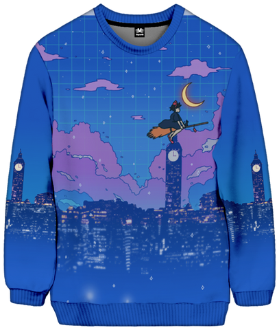Delivery Service Sweatshirt All Over Print Sweatshirt Accorsi Industries