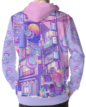 All Over Print Hoodie - Dream Realm Hoodie