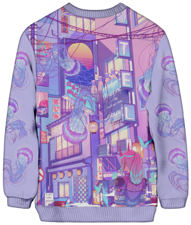 All Over Print Sweatshirt - Dream Realm Sweatshirt
