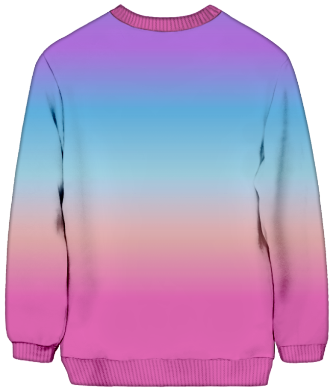 All Over Print Sweatshirt - Pastel Atmosphere Sweatshirt