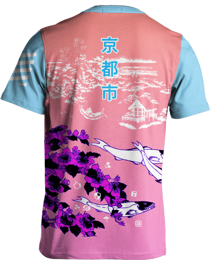 All Over Print Tee - Kyoto Koi Tee