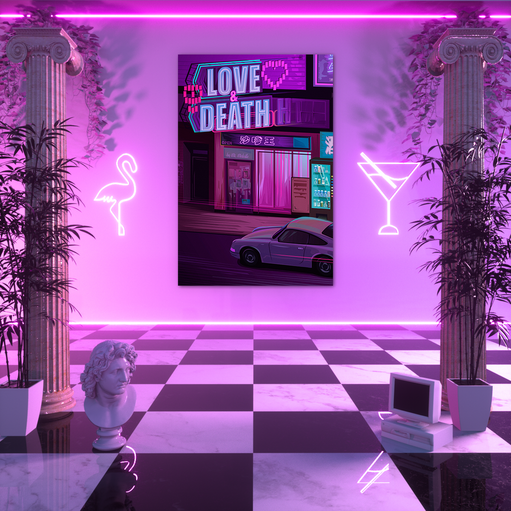 Love & Death Poster