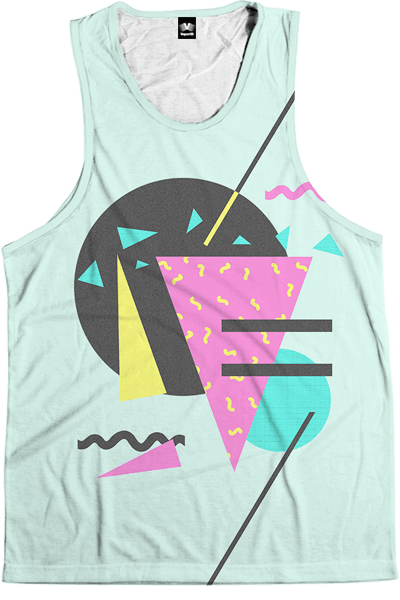 Lunchbox Tank Top All Over Print Tank Top T6