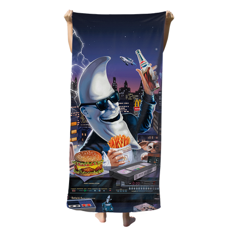 Mac Tonight Beach Towel Towel T6