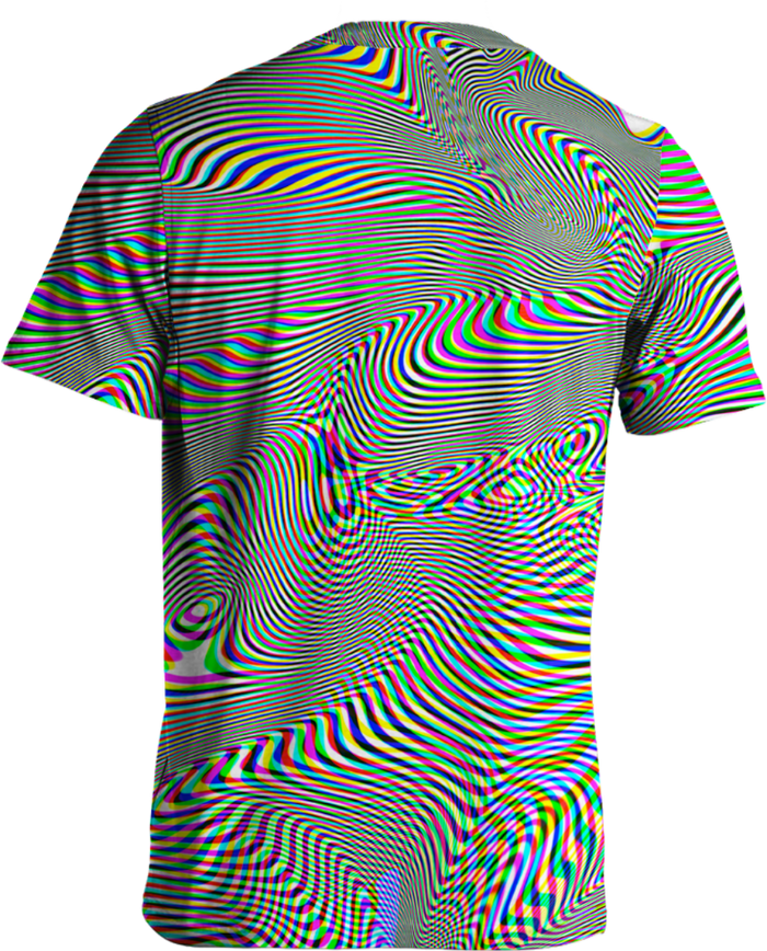 All Over Print Tee - Mesmerized Tee