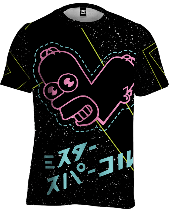 All Over Print Tee - Mr Sparkle Tee