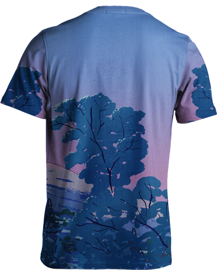 Mount Fuji Tee All Over Print Tee T6