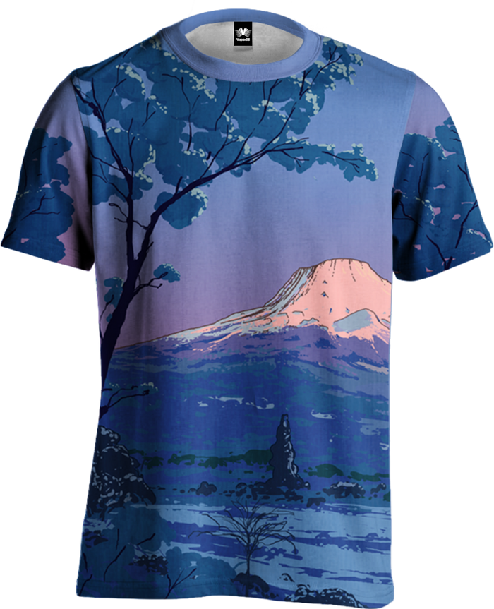 All Over Print Tee - Mount Fuji Tee