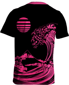 Fluorescent Wave Tee All Over Print Tee T6