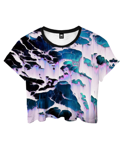 Fractal Land Crop Top Crop Top T6