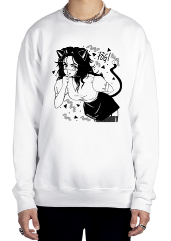 POG! Sweatshirt Graphic Sweatshirt Vapor95