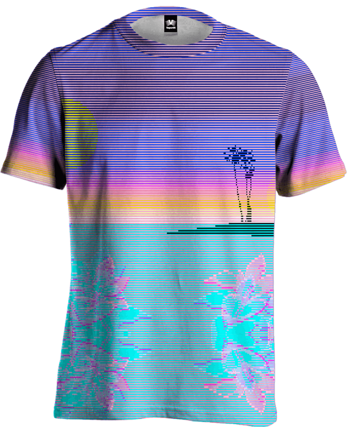 All Over Print Tee - Scanset Tee