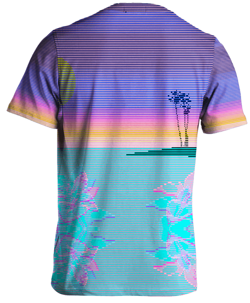 Scanset Tee by Vapor95. VaporWave. VaporFashion