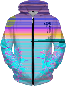 Scanset Zip Up Hoodie All Over Print Zip Up Hoodie T6