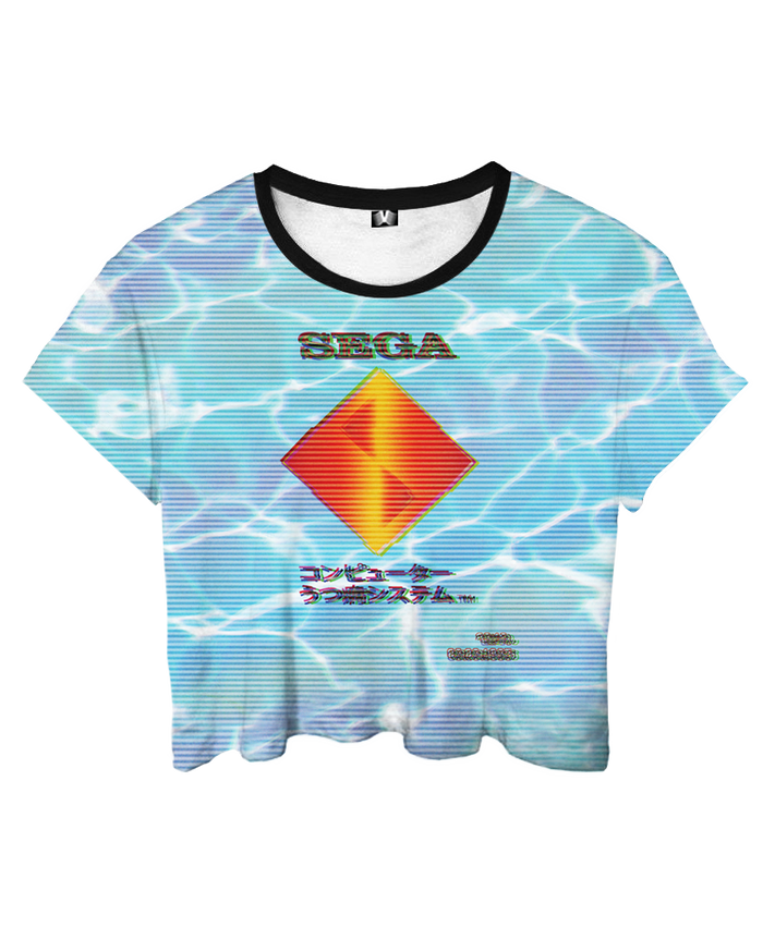 Crop Top - Sea of Dreams Crop Top