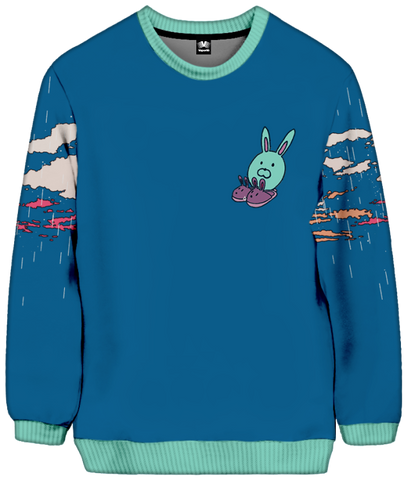 Sleepy Days Sweatshirt All Over Print Sweatshirt T6