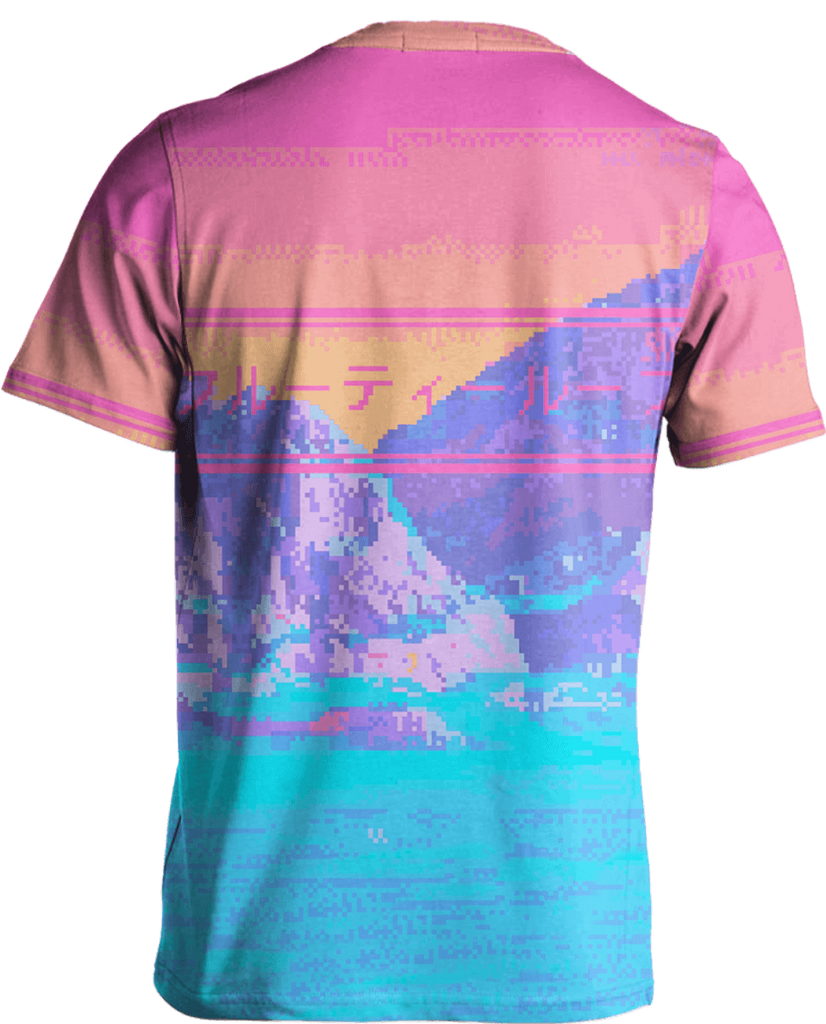 Strange Lands Tee by Vapor95. VaporWave. VaporFashion