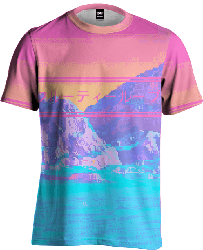 All Over Print Tee - Strange Lands Tee