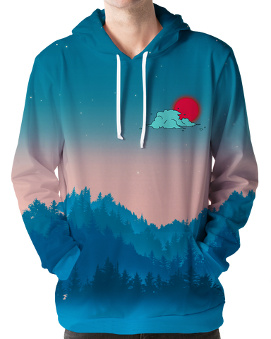 Together At Twilight Hoodie All Over Print Hoodie T6