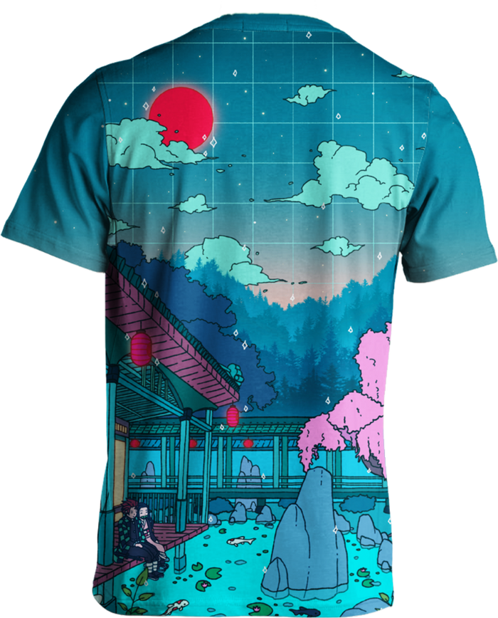 All Over Print Tee - Together At Twilight Tee