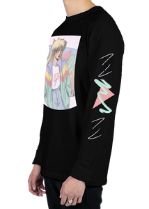 Turbo Babe Long Sleeve Tee Long Sleeve Graphic Tee Vapor95