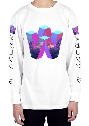 V64 Long Sleeve Tee Long Sleeve Graphic Tee Vapor95