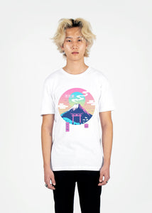 Vapor Shrine Tee Graphic Tee Vapor95 White S