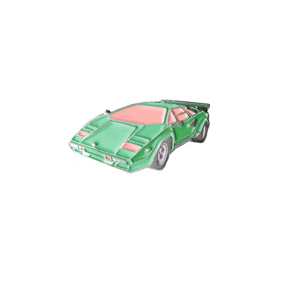 Mint Countach Pin