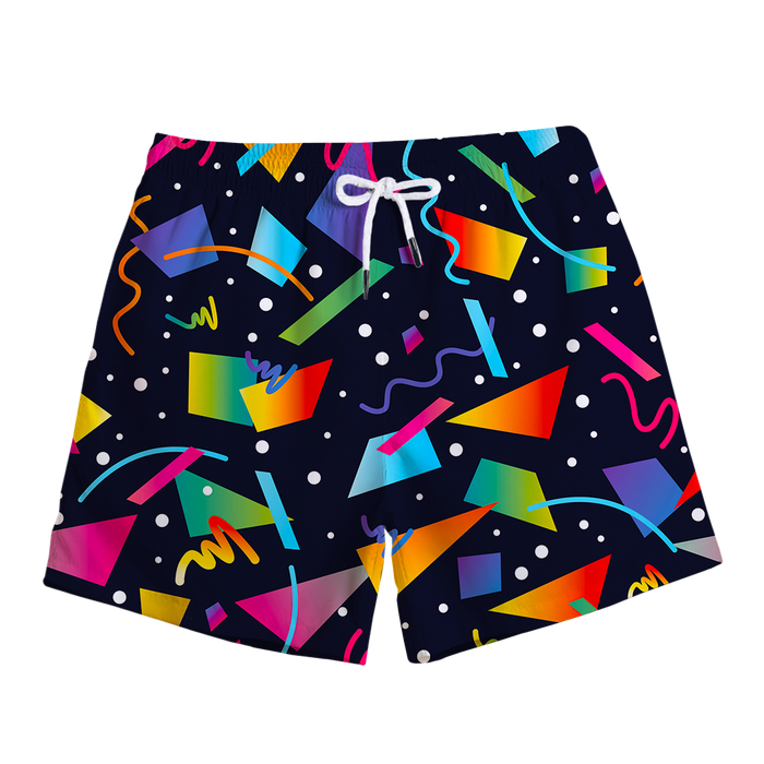 City Bus Swim Trunks