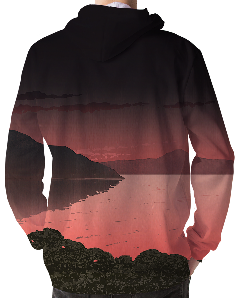 Desolate Hoodie by Vapor95. VaporWave. VaporFashion