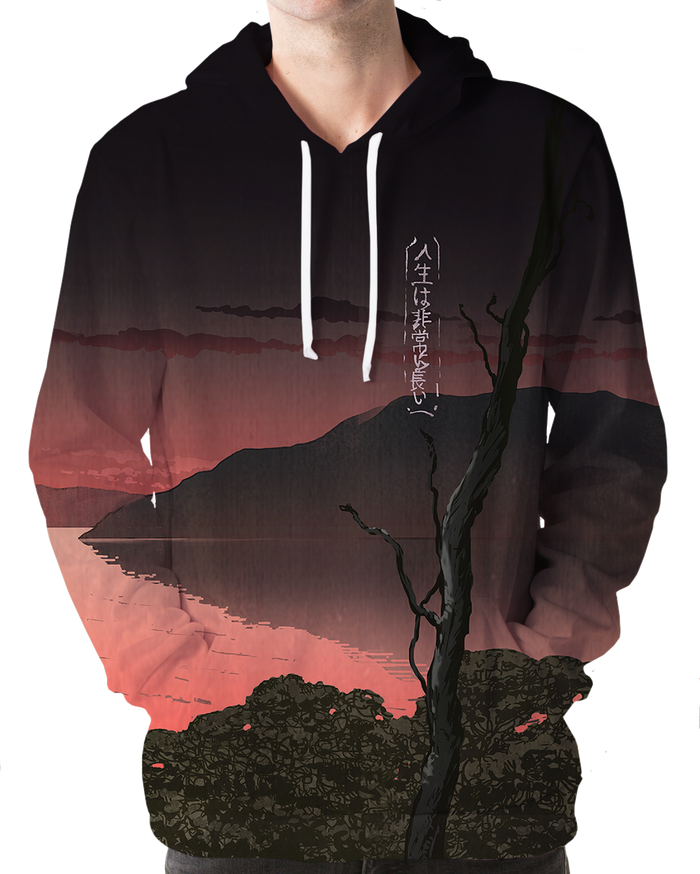 All Over Print Hoodie - Desolate Hoodie