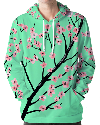 Full Bloom Hoodie All Over Print Hoodie Accorsi Industries