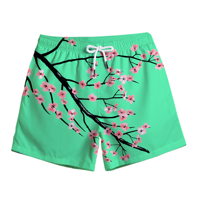 Full Bloom Swim Trunks Swim Trunks T6
