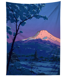 Mount Fuji Tapestry Tapestry T6