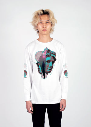 Paradox Long Sleeve Tee Long Sleeve Graphic Tee Vapor95 White S