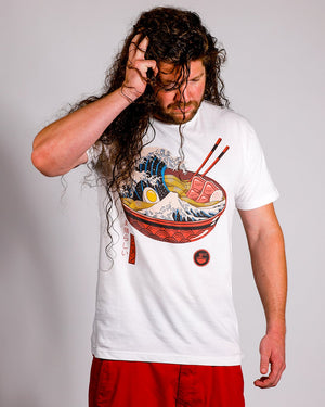 The Great Ramen Tee Graphic Tee Vapor95