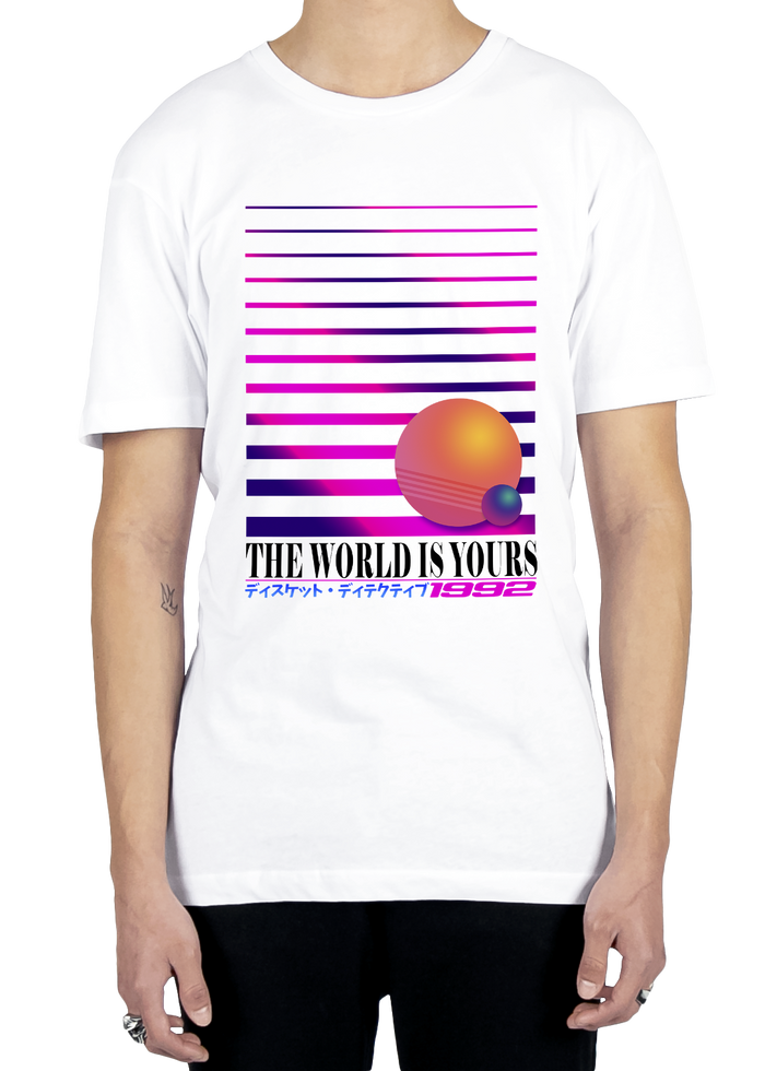 Graphic Tee - The World Is Yours Tee
