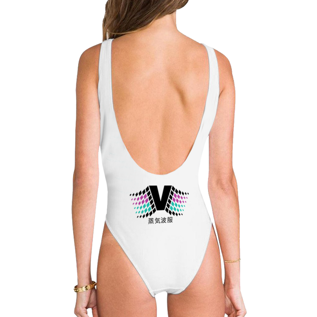 Trash Economy High Legged One Piece Swimsuit