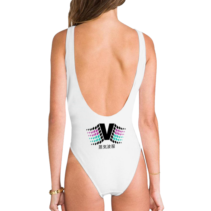 High Legged One Piece Swimsuit - Trash Economy High Legged One Piece Swimsuit