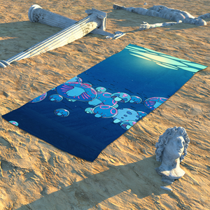Towel - Under The Surface Beach Towel