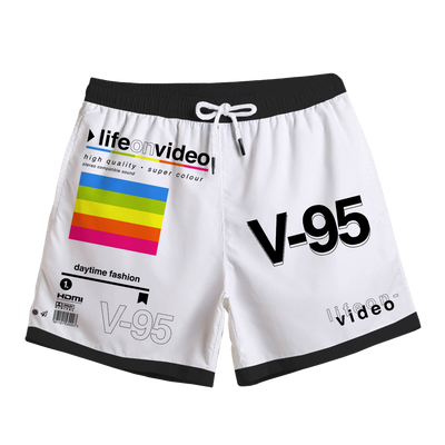 Life On Video Swim Trunks Swim Trunks T6
