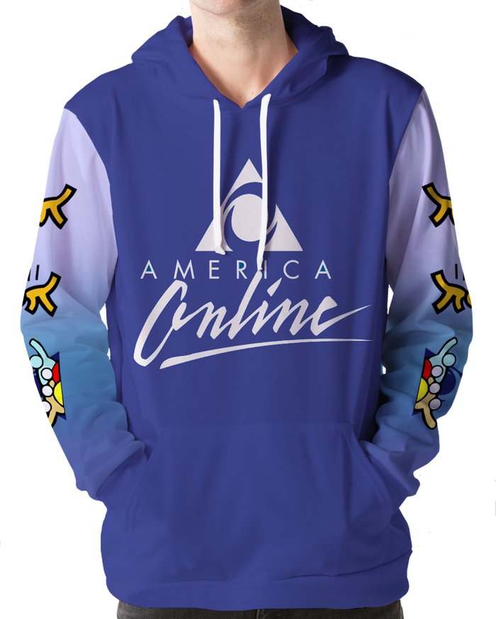All Over Print Hoodie - Welcome! Hoodie
