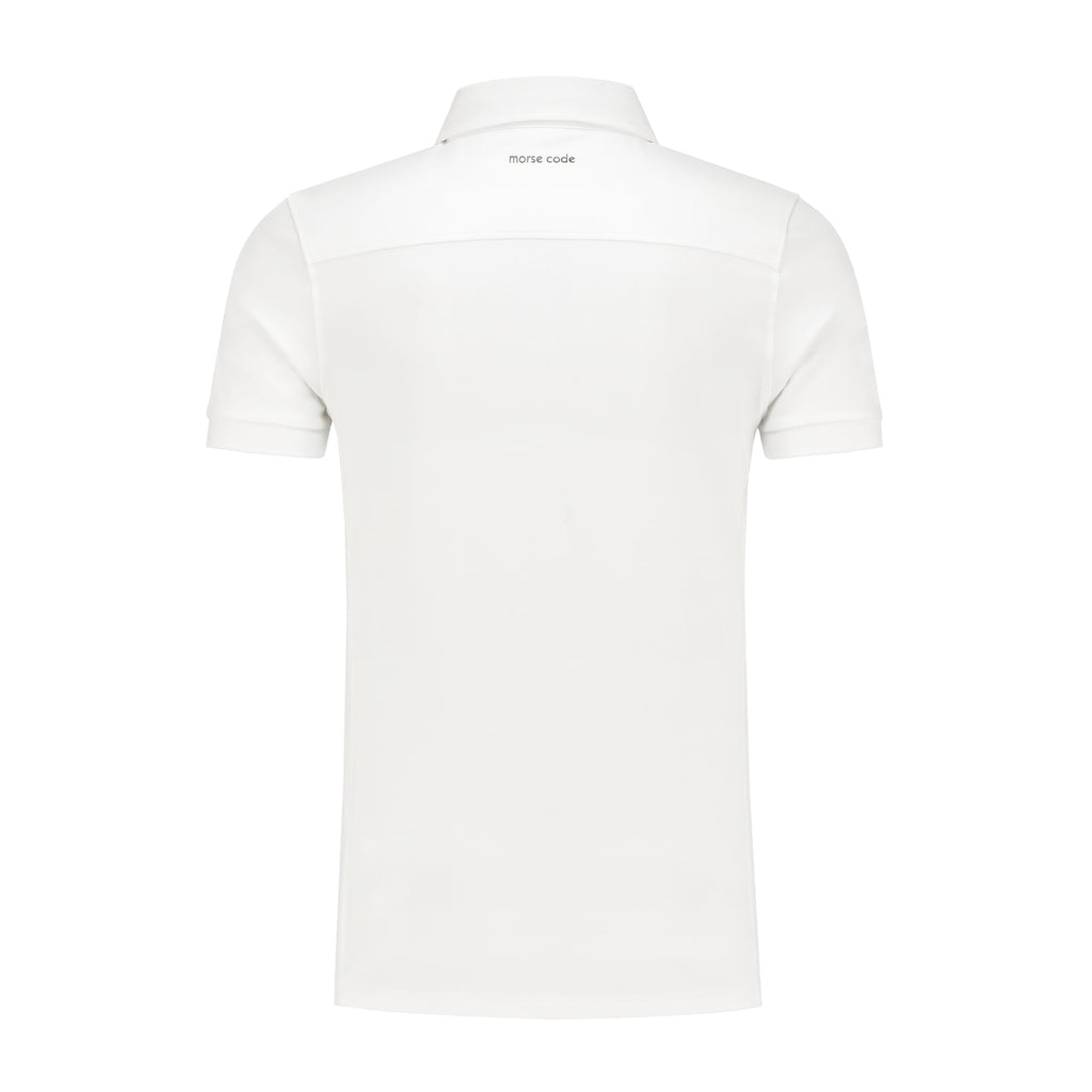 ALPHA1 - JERSEY STRETCH - WHITE