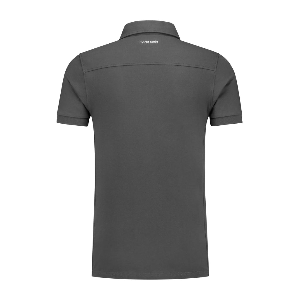 ALPHA1 - PIQUE STRETCH - ATMOSPHERE GREY