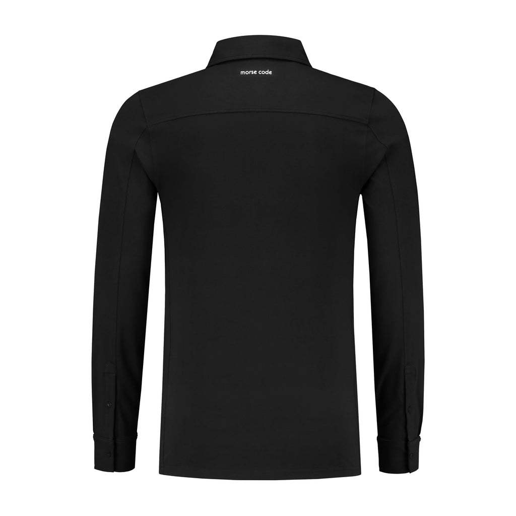 ALPHA2 - JERSEY STRETCH - BLACK