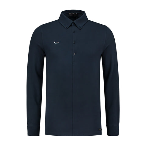 ALPHA2 - LONG SLEEVE - JERSEY STRETCH - DARK BLUE