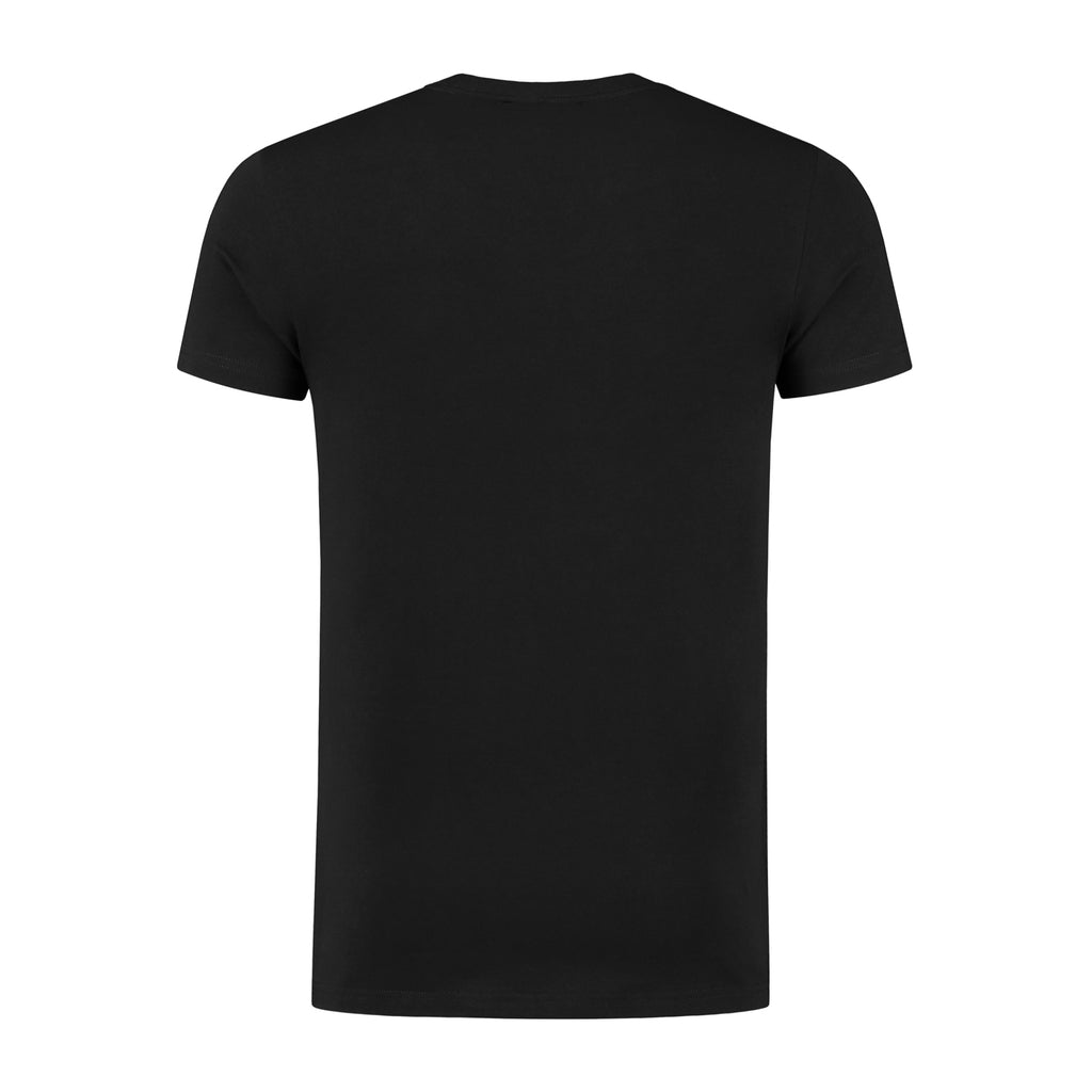 ECHO1 - ROUND NECK TEE - BLACK - NEW