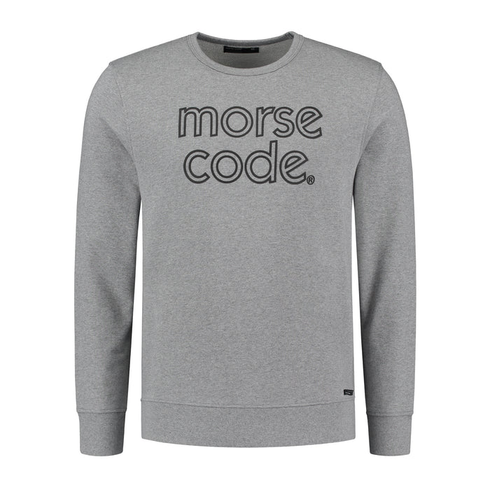 HOTEL1 - BRAND SWEAT - GREY MELANGE