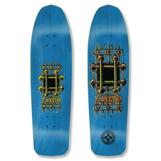 BLACK LABEL DECK - AUTOGRAPHED M.I.A BLUE STAINS (9.25